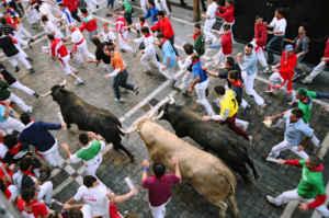 Navarra se viste de rojo y blanco: 7 de julio... Sanfermín