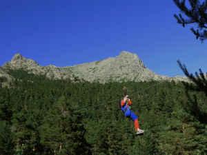 Turismo activo en la sierra de Guadarrama