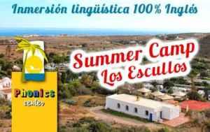 Summer Camp, vacaciones en inglés en Cabo de Gata