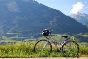Rutas ciclistas desde un camping