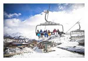 Esquí y camping en Aragón