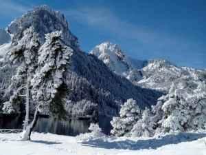 Un camping para disfrutar de la nieve