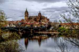 Salamanca en bici y de camping