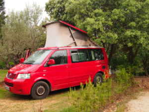 Descenso de barrancos y camping en Alquézar