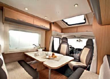 Adria Matrix Acces M 670 SC - Interior