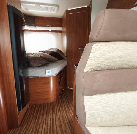 Adria MATRIX Plus M 650 SF - Interior