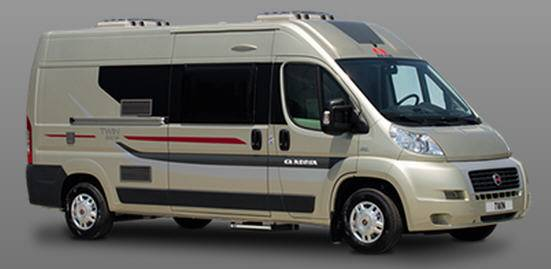 Adria Twin 600 SP - Exterior