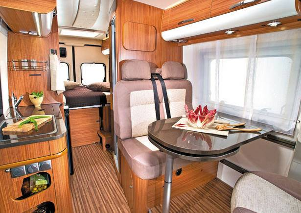 Adria Twin 600 SP - Titan-Metal - Interior