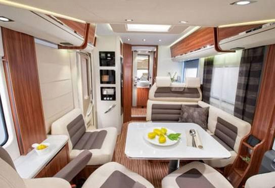 Adria Sonic Plus I 700 SBC - Interior