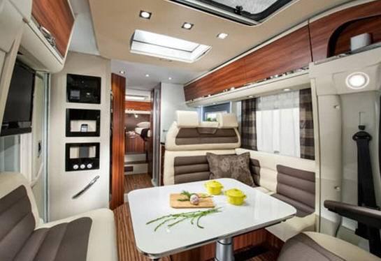 Adria Coral Plus S 650 SF - Interior