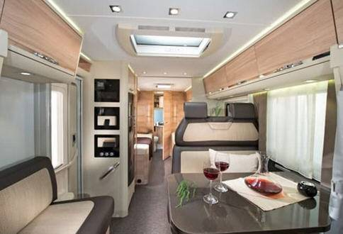 Adria Coral Axess S 650 SF - Interior