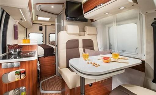 Adria Twin 540 SPT - Interior