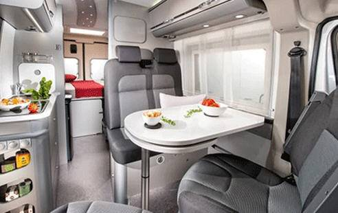 Adria Twin 600 SPT - Interior