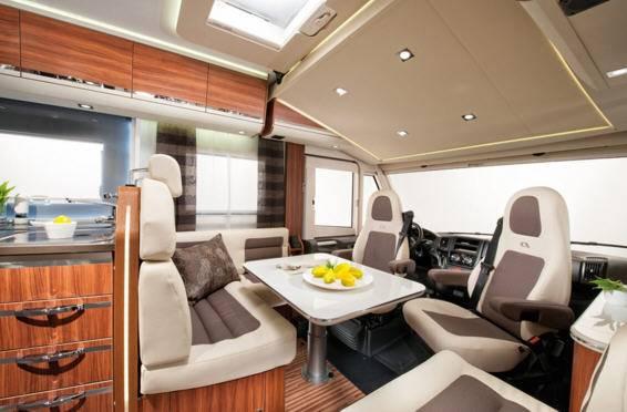 Adria Sonic Plus I 600 SC - Interior