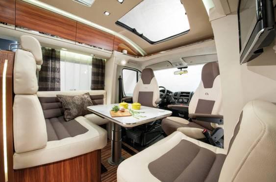 Adria Coral Plus S 600 SL - Interior