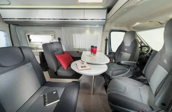 Adria Twin 500 S-Titan - Interior