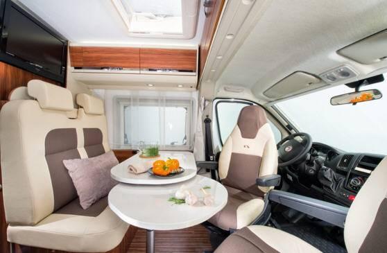 Adria Twin 600 SP - Interior