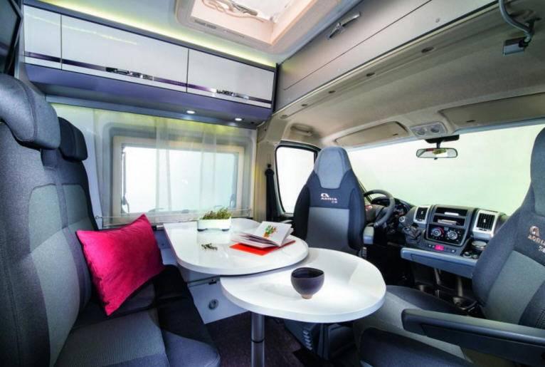 Adria Twin 600 SPT 50Y - Interior