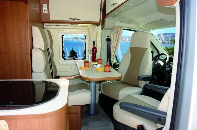 Benimar Benivan 102 Active - Interior
