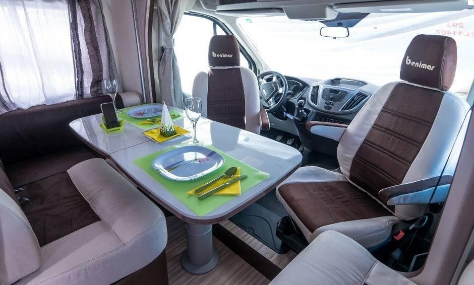 Benimar Tessoro T 413 Ford / 2200 / 125 - Interior