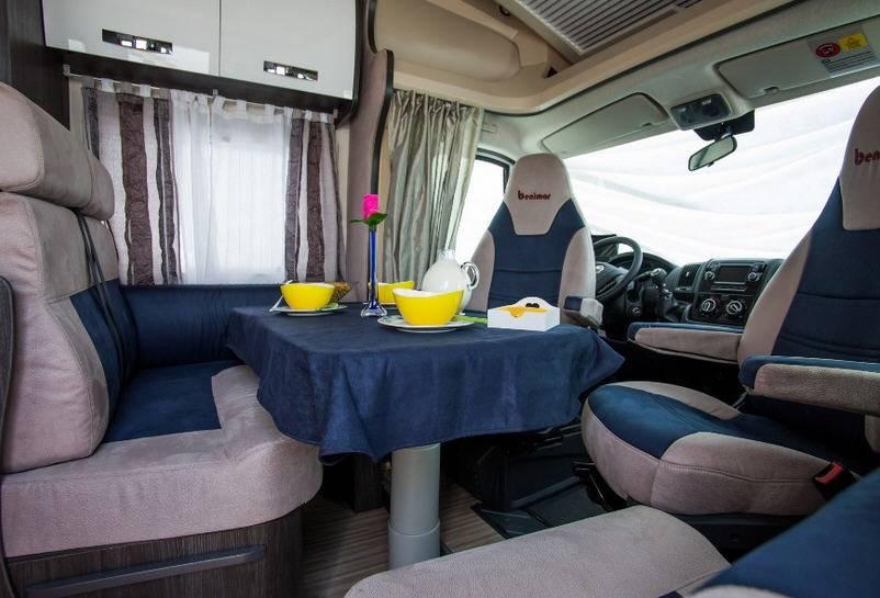 Benimar Mileo M 233 Fiat / 2000 / 115 - Interior