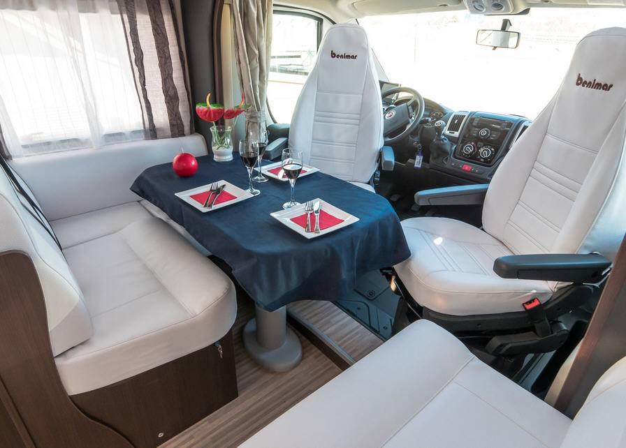 Benimar Benivan B 103 Fiat / 2300 / 130 - Interior