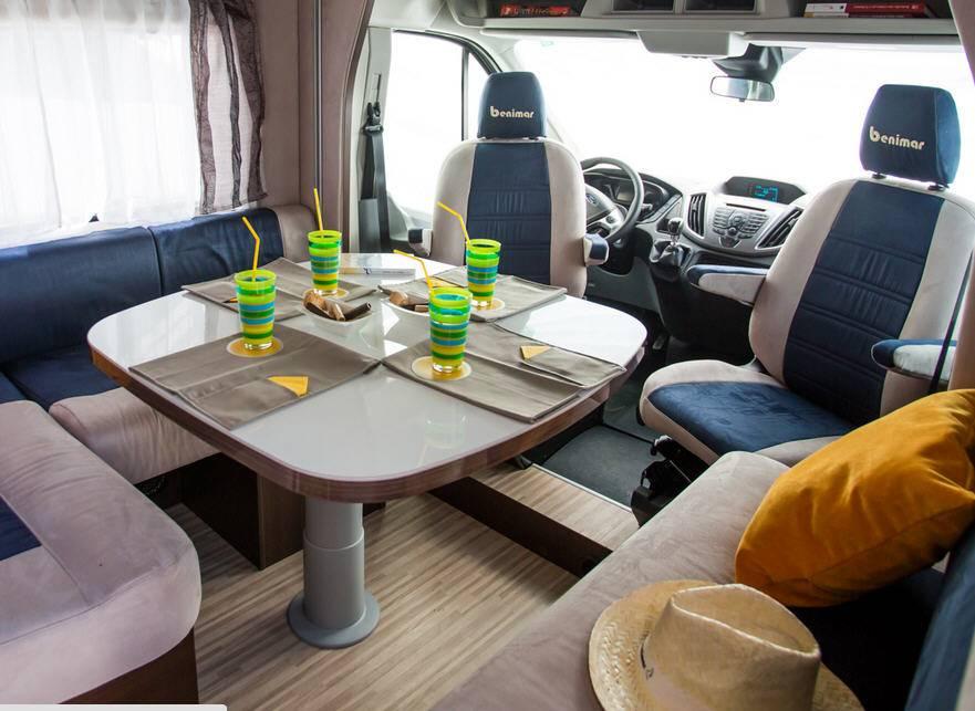 Benimar Benivan B 111 Fiat / 2300 / 130 - Interior