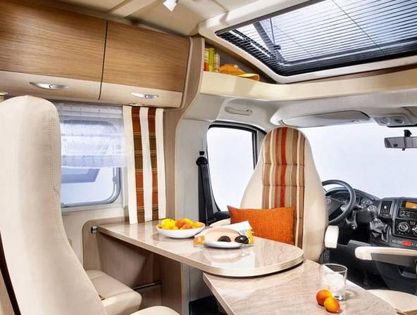 Bürstner Brevio t 640 - Interior