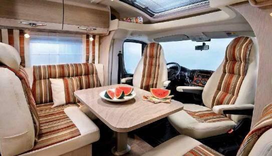 Bürstner Nexxo t 740 - Interior