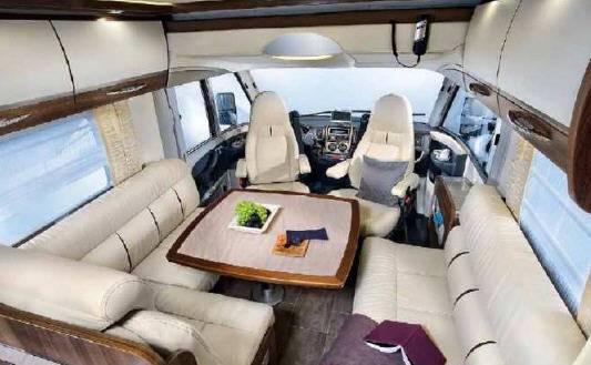 Bürstner Elegance i 890 G - Interior