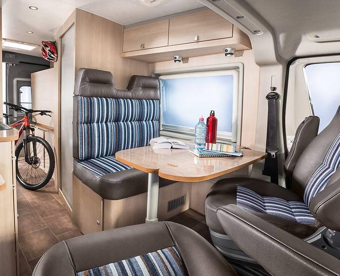 Bürstner City Car C 600 - Interior