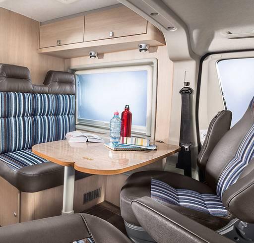 Bürstner City Car C 640 - Interior