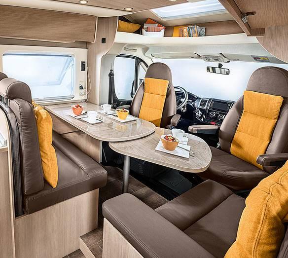 Bürstner IXEO TIME it 695 - Interior