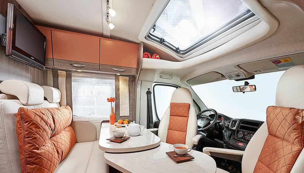 Bürstner Brevio T 605 - Interior