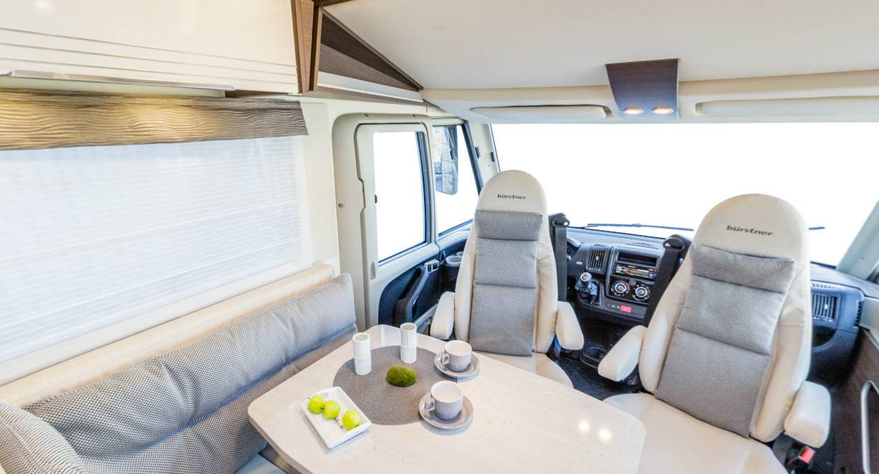Bürstner Viseo I670G - Interior