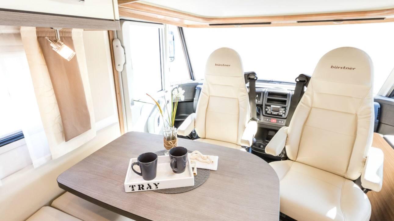 Bürstner Aviano I690G - Interior