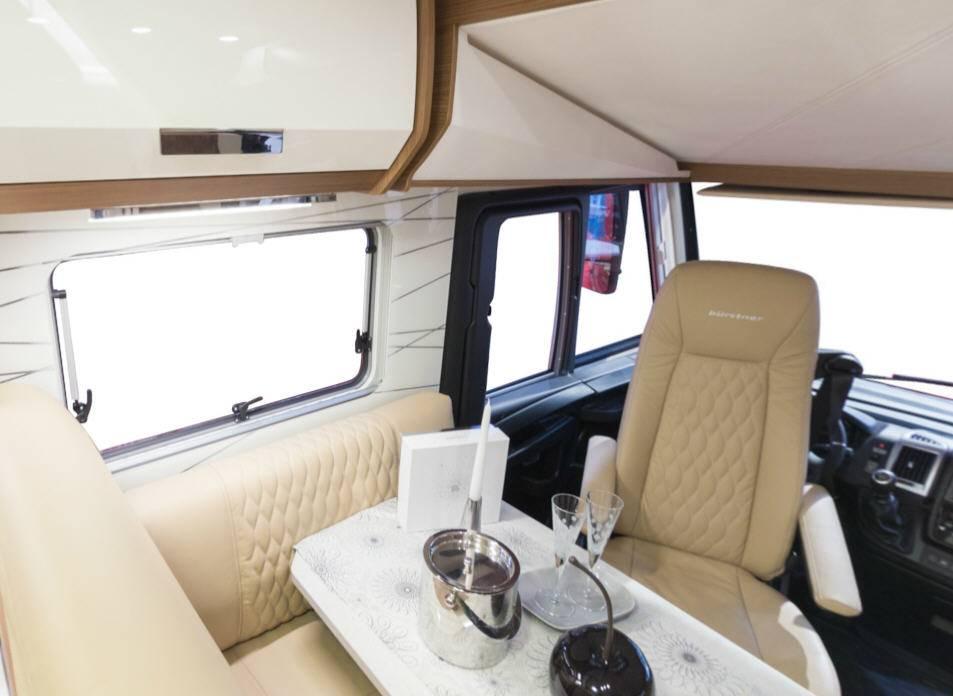 Bürstner Elegance I695G - Interior