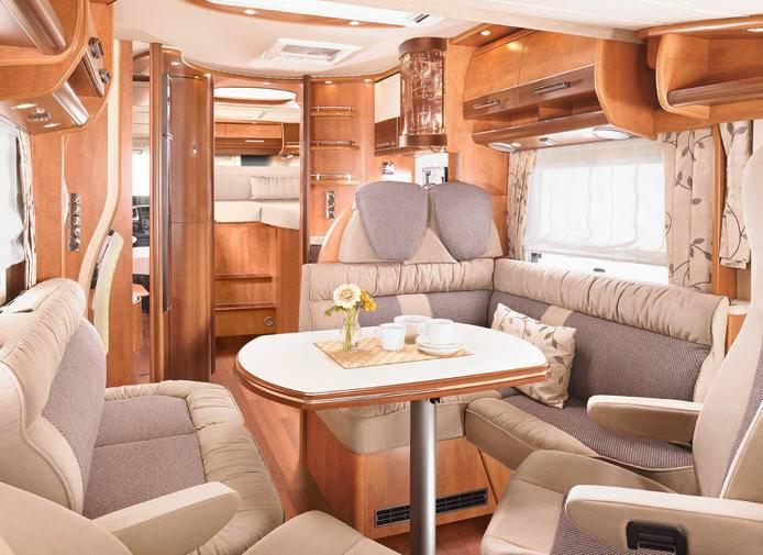 Carthago Chic c-line XL 5.5 LE - Interior