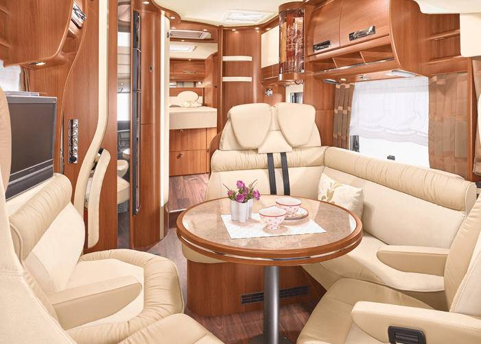 Carthago Chic s-plus I 52 - Interior