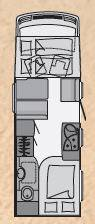 Dethleffs SERIE ESPECIAL SUMER EDITION I I-6701 - Plano - Distribución