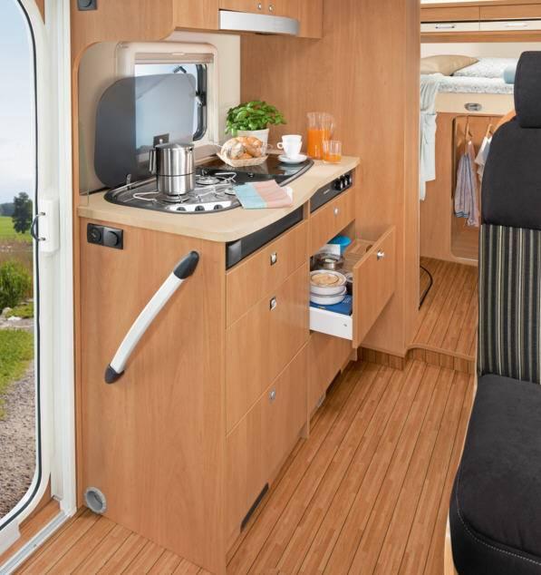 Dethleffs Globebus T - 15 - Interior