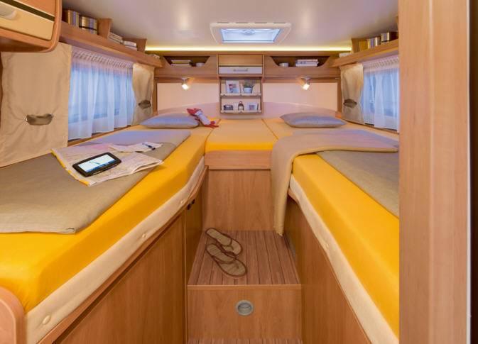 Dethleffs Globebus I -4 - Interior