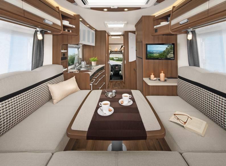 Dethleffs Esprit Comfort A / T / I A - 6820-2 - Interior
