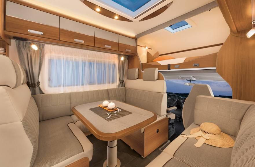 Dethleffs Esprit Comfort A / T / I A - 7870-2 - Interior