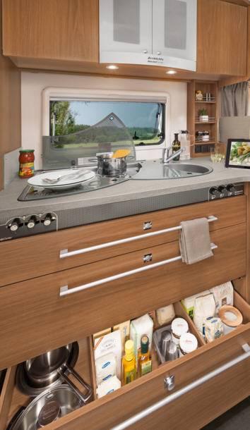 Dethleffs Esprit Comfort A / T / I T-7090-2 - Interior