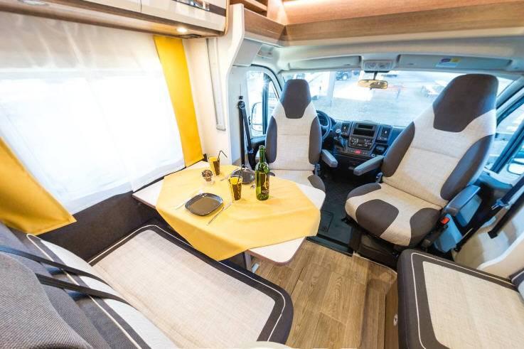Dethleffs Trend T 7057 DBM - Interior