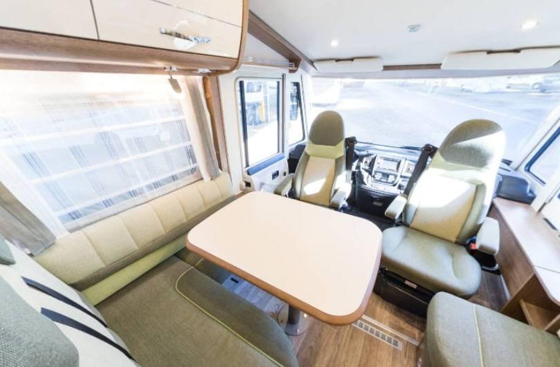 Dethleffs Espirit I I 7150 DBT - Interior