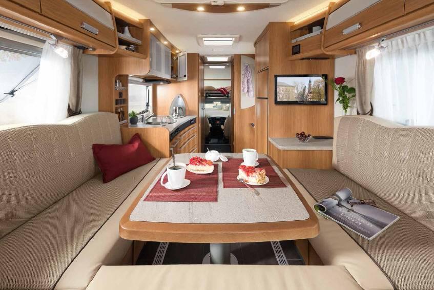 Dethleffs Espri A Comfort A 7870-3 - Interior