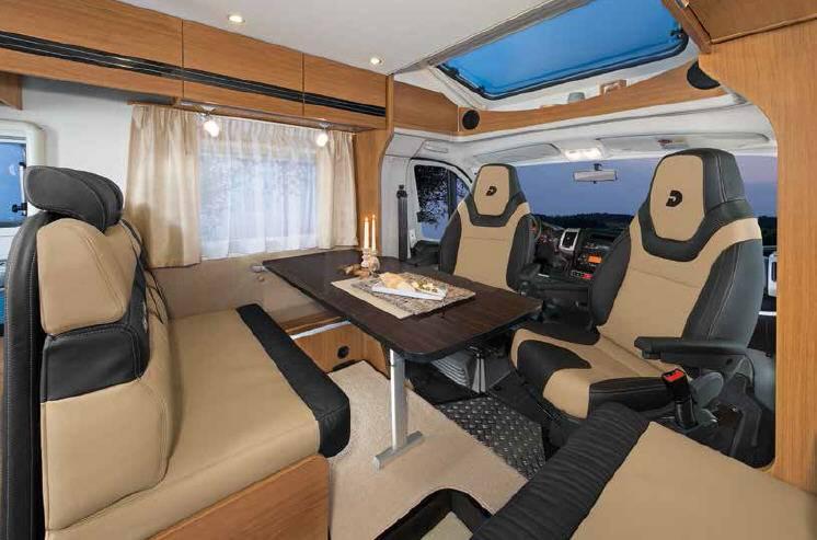 Dethleffs Magic Edition Globe 4T 7151 T White - Interior