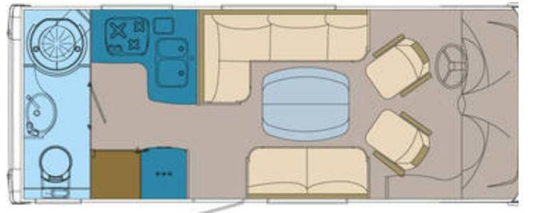 Frankia FIAT DUCATO I 640 - Interior